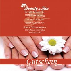 Beauty-Tan-Special - Geschenkgutschein