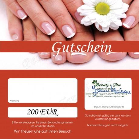 200 EUR Geschenkgutschein