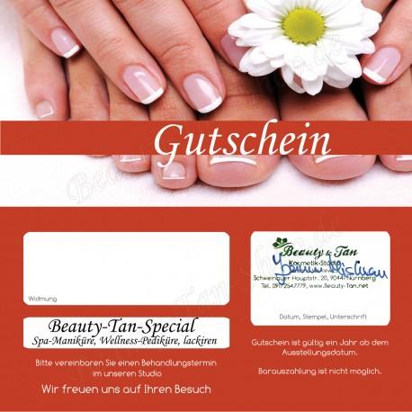 Beauty-Tan-Special I - Geschenkgutschein